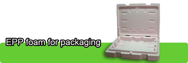 EPP foam for packaging